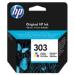 HP 303 Tri-color Original cartucho de tinta Rendimiento estándar Cian, Magenta, Amarillo