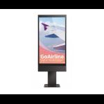 "LG 55XE3C Digital signage flat panel 55"" Full HD Black signage display"
