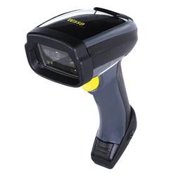 Wasp WWS750 Handheld bar code reader 1D/2D LED Black,Grey,Yellow