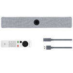 """Cisco CS-ROOM-USB-K9 camera voor videoconferentie 8 MP Grijs 3840 x 2160 Pixels 60 fps CMOS 25,4 / 1,4 mm (1 / 1.4"""")"""