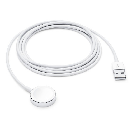Apple MX2F2ZM/A smartwatch accessory Charging cable White