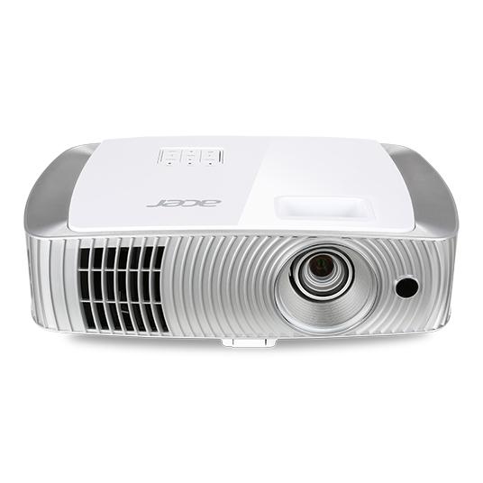 Acer Home H7550BD Desktop projector 3000ANSI lumens DLP 1080p (1920x1080) 3D Silver,White data projector