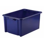 STRATASYS Storemaster Jumbo Crate 48.5L Blue HW048-Blue