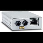 Allied Telesis AT-MMC2000/ST-960 network media converter 1000 Mbit/s 850 nm Multi-mode Gray