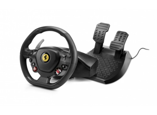 Thrustmaster T80 Ferrari 488 GTB Edition Steering wheel + Pedals PlayStation 4 Digital Black