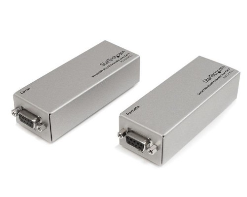 StarTech.com RS232EXTC1GB Network transmitter Silver