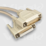 Videk RS232 25 D Type Cable 3m SCSI cable