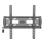 """Tripp Lite Heavy-Duty Fixed Security Wall Mount for 32"""" to 55"""" TVs and Monitors, Flat or Curved Screens, UL Certified"""