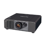 Panasonic PT-FRZ60BEJ data projector Ceiling / Floor mounted projector 6000 ANSI lumens DLP WUXGA (1920x1200) Black