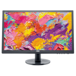 "AOC Value-line E2460SH 24"" Full HD Black computer monitor"