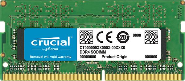 Crucial CT4G4SFS8266 módulo de memoria 4 GB DDR4 2666 MHz