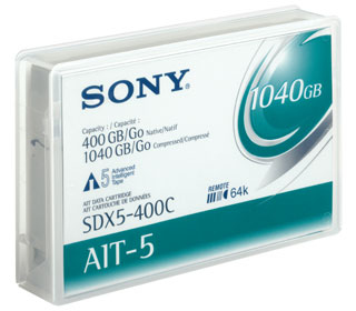 Ait Cartridge Sdx-5400cn Ait-5 400/1040 GB