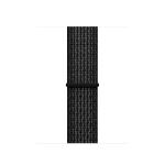 Apple 38mm Black/Pure Platinum Nike Sport Loop