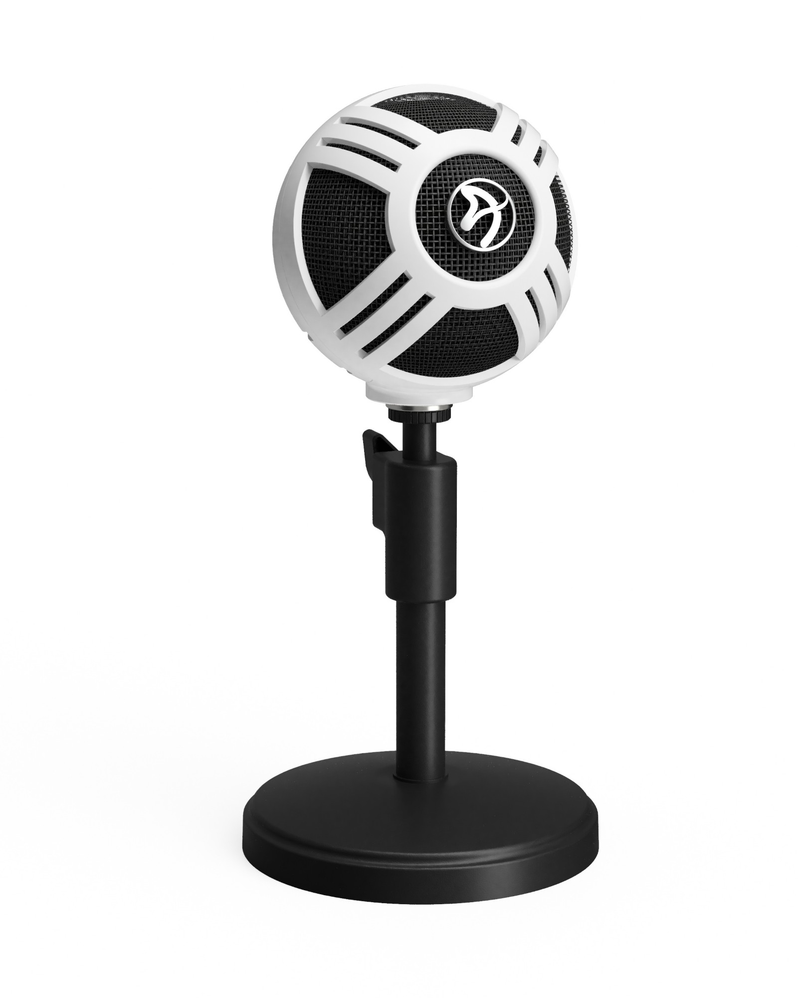 Arozzi Sfera Table microphone Wired Black, White
