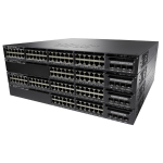 Cisco Catalyst WS-C3650-48FS-E network switch Managed L3 Gigabit Ethernet (10/100/1000) Black 1U Power over Ethernet (PoE)