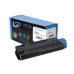 Click, Save & Print Remanufactured Oki 42127408 Black Toner Cartridge