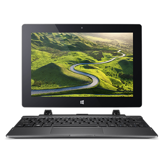 "Acer Aspire Switch One 10 SW1-011-10HA 1.44GHz x5-Z8350 10.1"" 1280 x 800pixels Touchscreen Black Hybrid (2-in-1)"