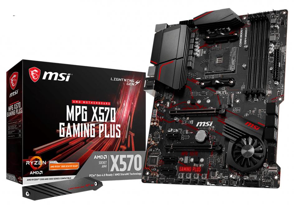 MSI MPG X570 Gaming Plus placa base Zócalo AM4 ATX AMD X570