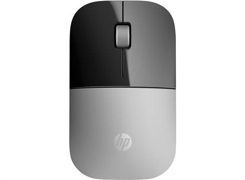 HP Z3700 mice RF Wireless Blue LED 1200 DPI Ambidextrous Silver