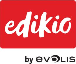 Evolis Edikio DUPLEX Price Tag solution, dual sided, 12 dots/mm (300 dpi), USB, Ethernet