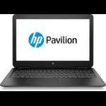 "HP Pavilion 15-bc400na Black Notebook 39.6 cm (15.6"") 1920 x 1080 pixels 1.60 GHz 8th gen Intel® Core™ i5 i5-8250U"