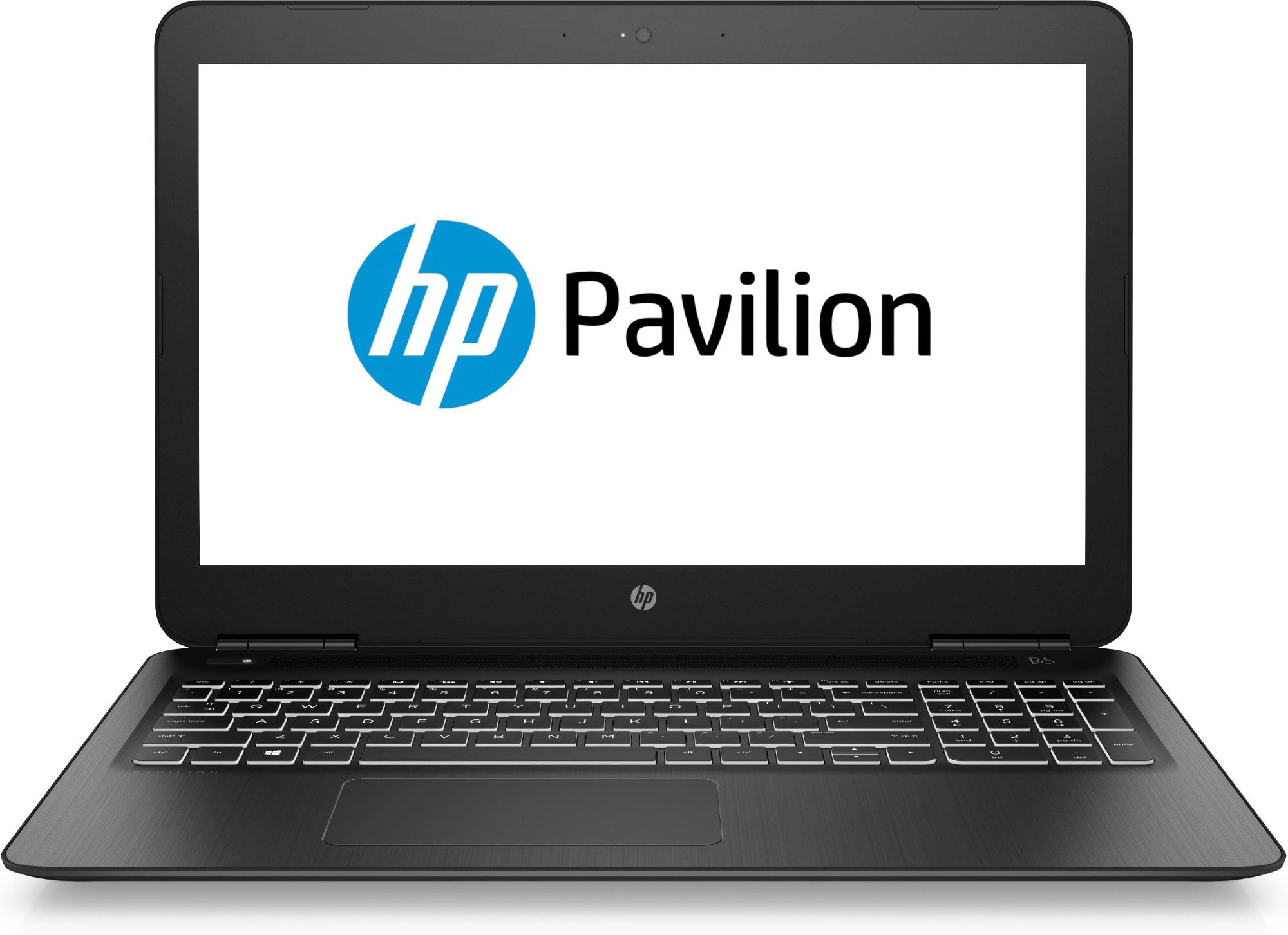 HP Pavilion 15-bc400na Black Notebook 39.6 cm (15.6
