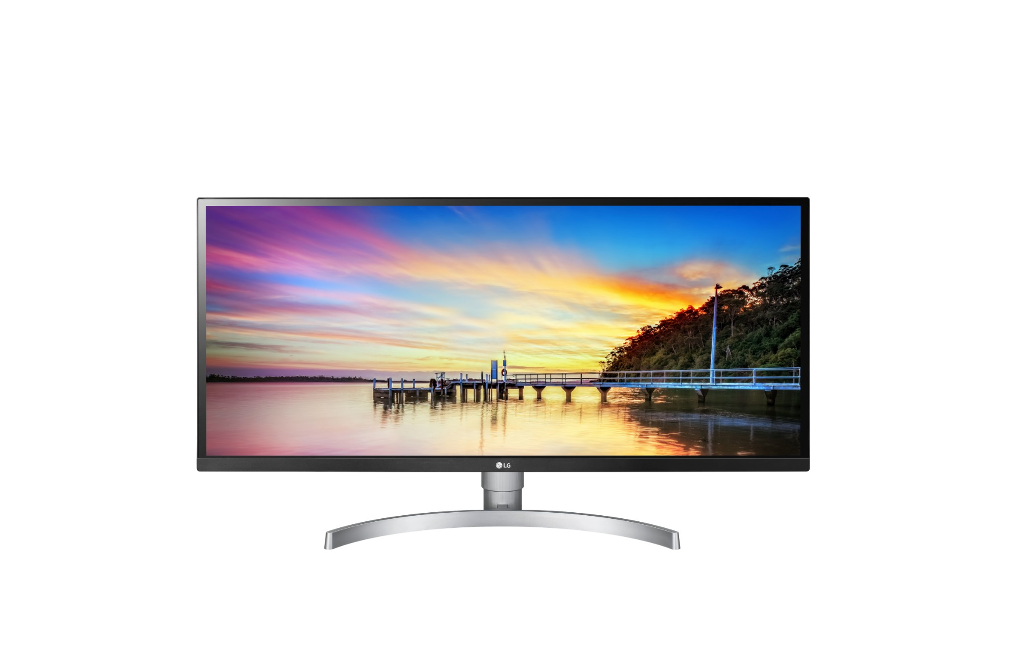 "LG 34WK650-W LED display 86.4 cm (34"") QXGA Flat Black,White"