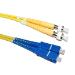 Videk OS1 SC - FC/PC fibre optic cable 5 m FC/PC Yellow
