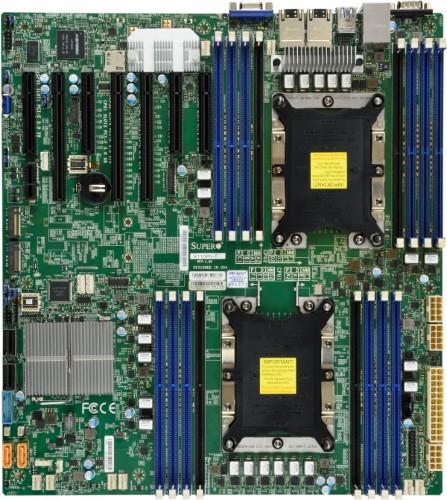 Supermicro X11DPH-TQ Intel C628 LGA 3647 (Socket P) Extended ATX server/workstation motherboard