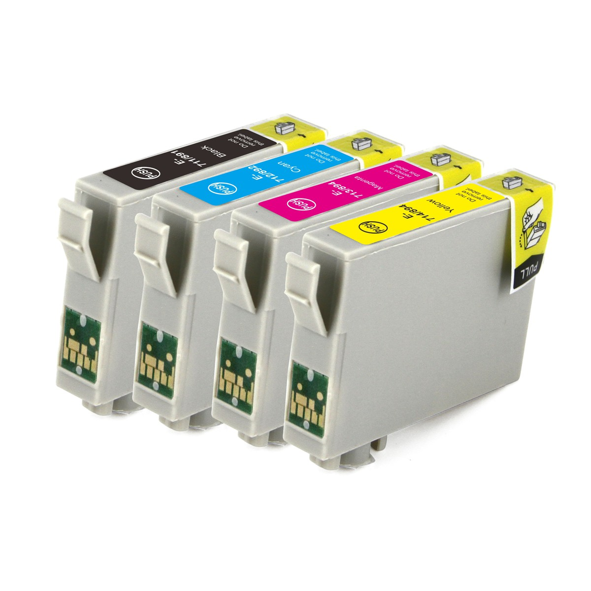 Compatible Epson T0715 Cheetah Ink Cartridge Multipack