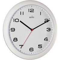 Acctim AYLESBURY WALL CLOCK WHT 92/301