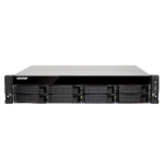 QNAP TS-863U NAS Rack (2U) Ethernet LAN Black