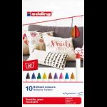 Edding 4600 Multicolour 10 pc(s)