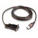 Intermec USB to Serial Adapter RS-232 Negro