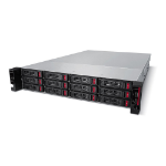 Buffalo TeraStation 51210RH Ethernet LAN Rack (2U) Zwart NAS