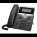 Cisco 7841 teléfono IP Negro, Plata Terminal con conexión por cable LCD 4 líneas