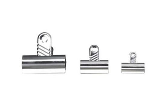 Whitecroft Essentials Value Letter Clip 70mm Silver PK 10