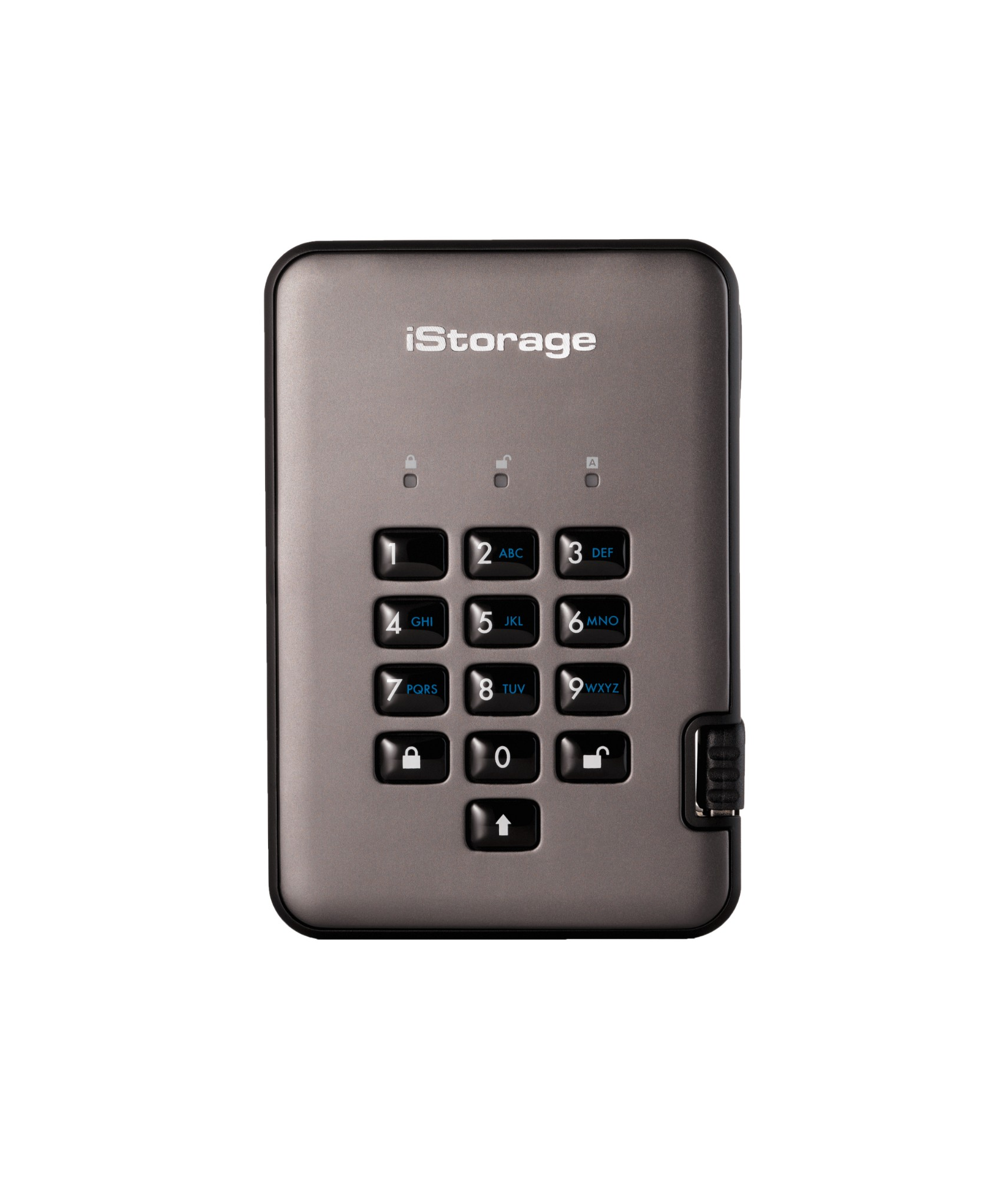 iStorage diskAshur PRO2 1000GB Black,Graphite external hard drive