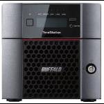 Buffalo TeraStation TS5210DN Ethernet LAN Desktop Black NAS