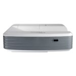 Optoma X320USTi videoproyector 4000 lúmenes ANSI DLP XGA (1024x768) 3D Proyector para escritorio Gris, Blanco