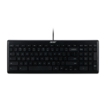 Acer DP.PRCEE.0C0 toetsenbord USB QWERTY US International Zwart