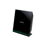 Netgear D6100-100UKS Dual-band (2.4 GHz / 5 GHz) Gigabit Ethernet Black
