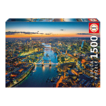 EDUCA England: London Aerial View 1500pcs Jigsaw Puzzle (16765)