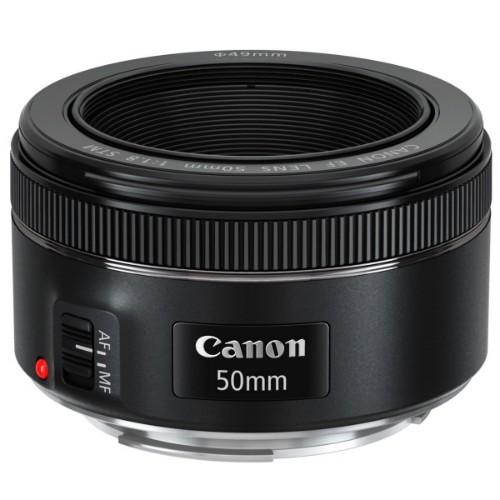 Canon EF 50mm f/1.8 STM SLR Telephoto lens Black