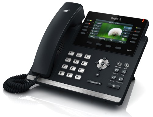Yealink SIP-T46GN IP phone Black Wired handset LED