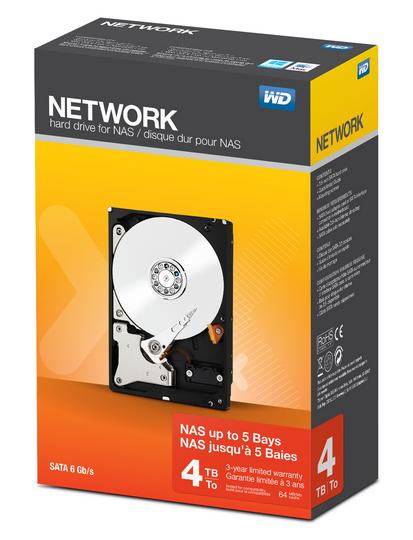 Western Digital Network 4TB 4000GB Serial ATA III