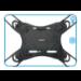 "Mobilis 030002 funda para tablet 25,6 cm (10.1"") Bandolera Negro"