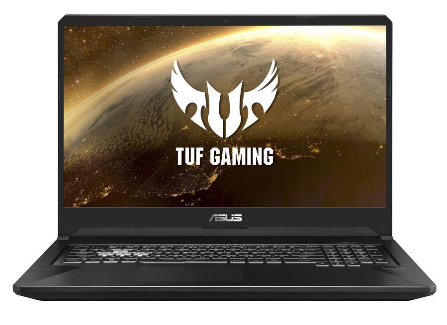"ASUS TUF Gaming FX705DT-H7116T notebook Black 43.9 cm (17.3"") 1920 x 1080 pixels AMD Ryzen 5 8 GB DDR4-SDRAM 512 GB SSD NVIDIA GeForce GTX 1650 Wi-Fi 5 (802.11ac) Windows 10 Home"