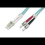 Digitus DK-2531-01/3 1m LC ST/BFOC Blue fiber optic cable