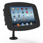 Maclocks Compulocks iPad Secure Space Enclosure with Flex Arm Kiosk Black - Mounting kit ( mount, anti-theft